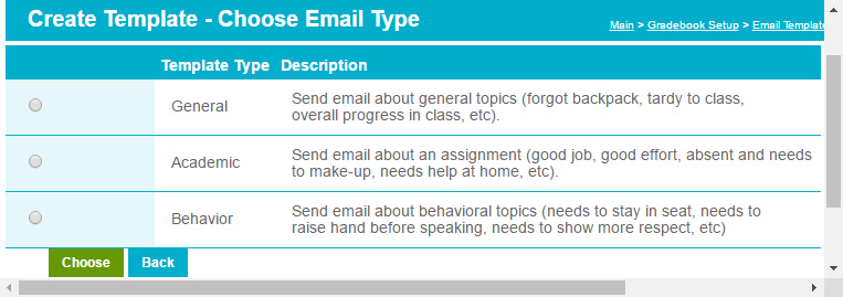 Create Email Templates