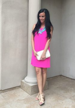 Small Of Hot Pink Dress