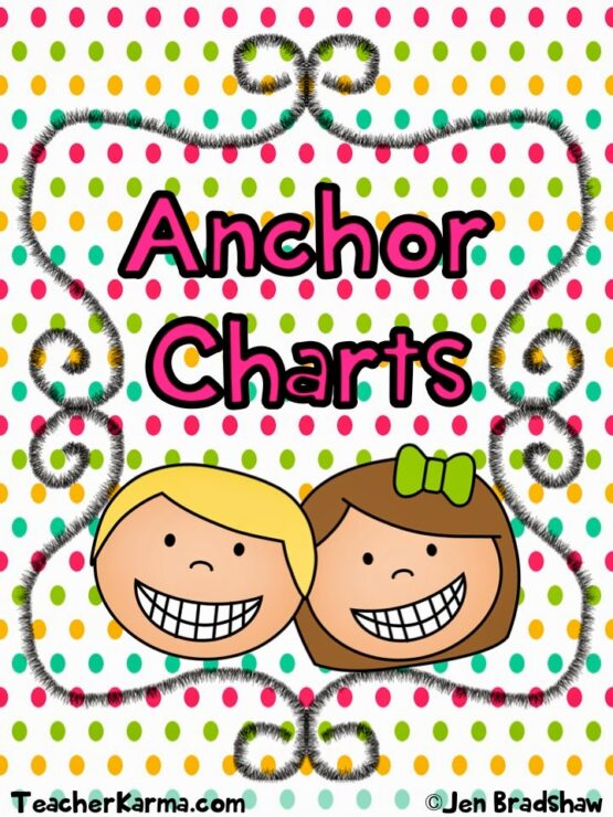 You Oughta Know About Anchor Charts  FREEBIE! - Teacher KARMA - anchor charts