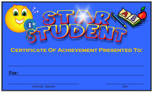 Free Printable Award Certificates for Elementary School Teachers - free award certificates