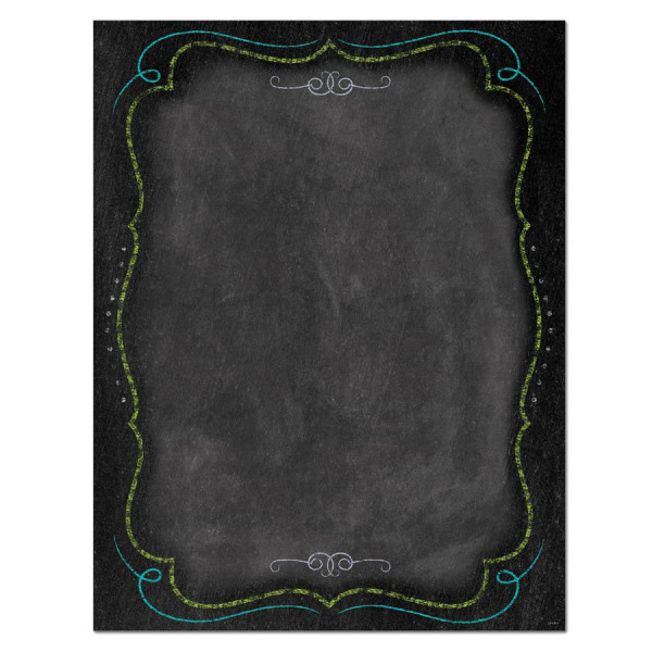 Chalk It Up! Blank Poster - Shop By Color or Theme
