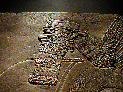 Sumerian king