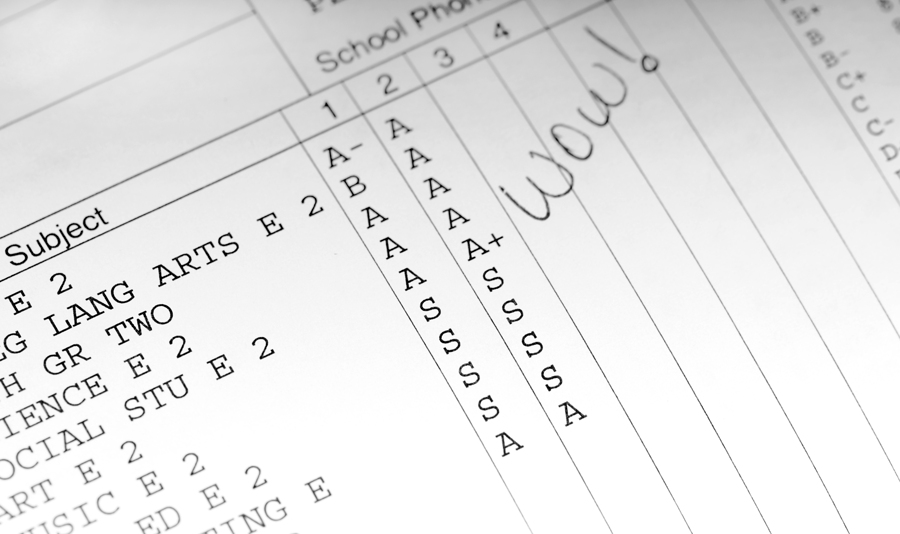 Report Cards Advice \ Suggested Comments for Teachers (Grades K - report card