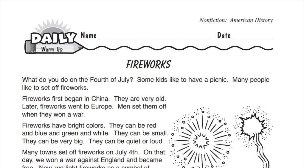 Fourth of July Teacher Resources (Grades K-12) - TeacherVision