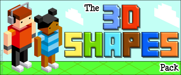 The 3D Shapes Pack -