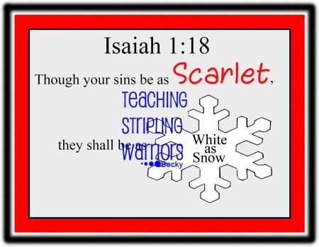 Isaiah 1 18 wm