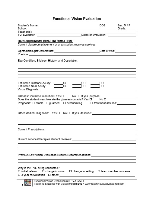 Doc#12751650 Sample Student Evaluation Forms u2013 Fitness - sample student evaluation forms