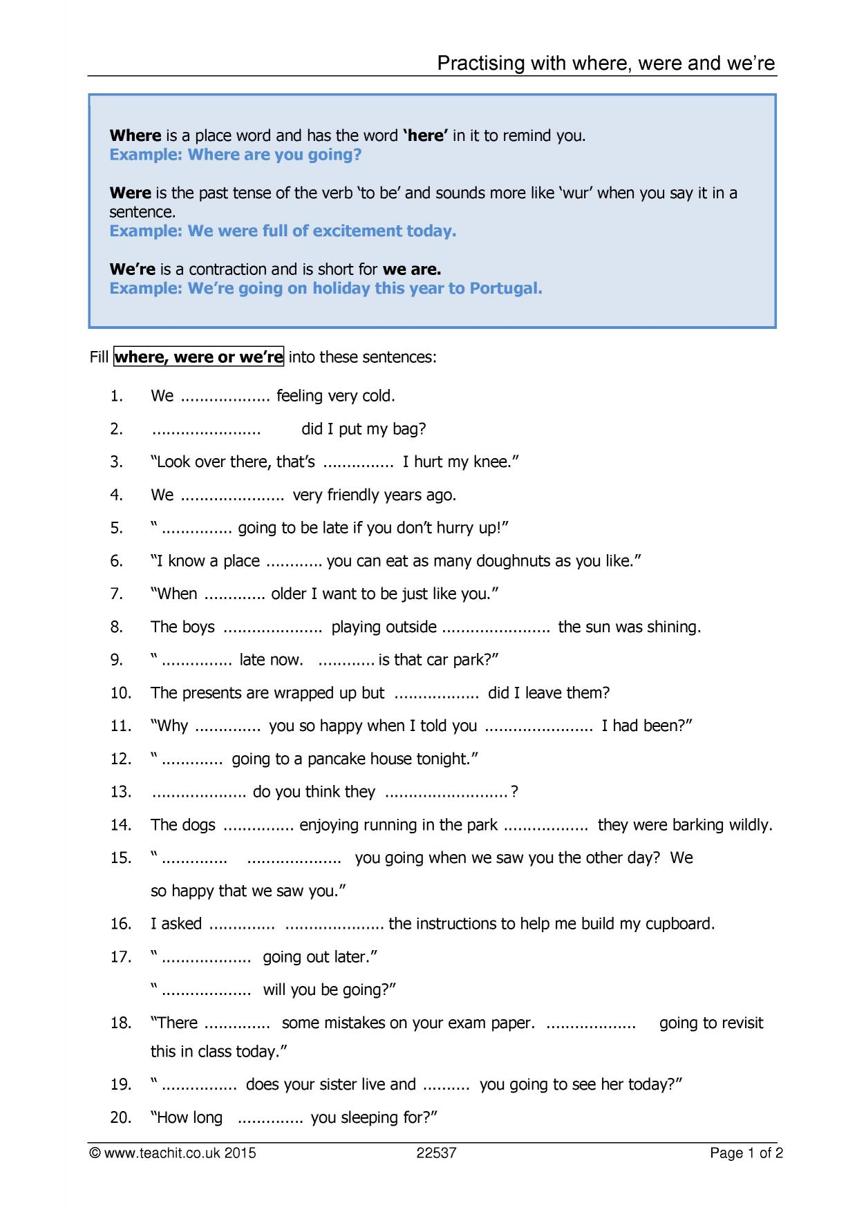 Subject verb agreement worksheets sample free download - Subject Verb Agreement Worksheets Uk College Articles Yourdictionary Sentence Construction Ks3 Grammar And Vocabulary Key Stage