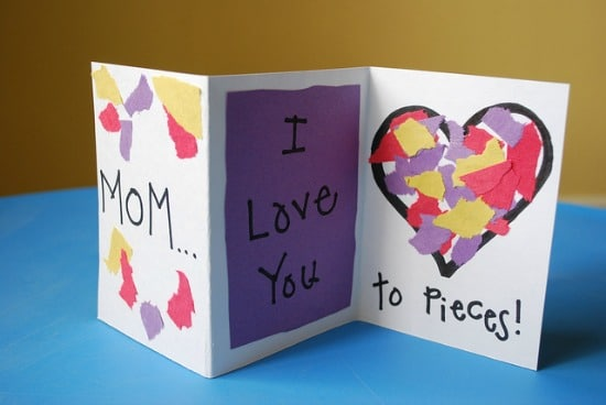 28 Simple Motheru0027s Day Crafts and Gift Ideas - Teach Junkie - print writing paper