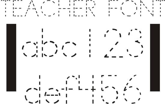 42 Free Fonts for Teachers - Teach Junkie
