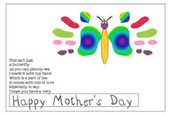 28 Simple Motheru0027s Day Crafts and Gift Ideas - Teach Junkie - project design template