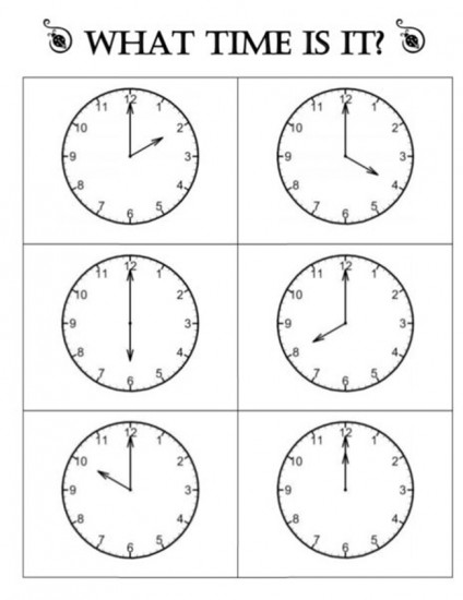 18 Quick Telling Time to the Hour Resources - Teach Junkie - time worksheets