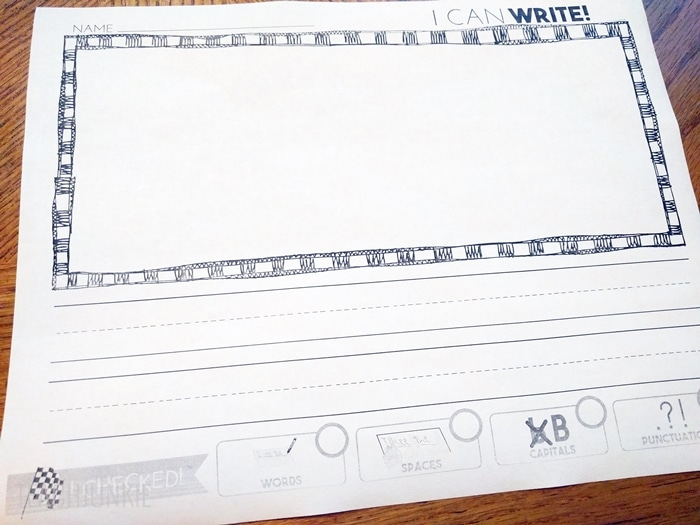 Writing Paper With Editing Checklist FREEBIE - Teach Junkie