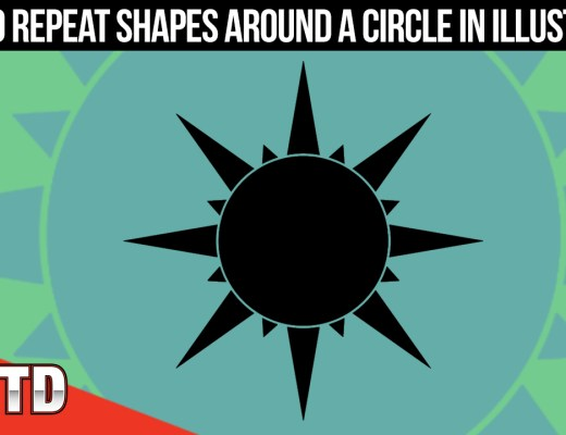 Illustrator Tutorials: How to Repeat Shapes Around a Circle in Illustrator