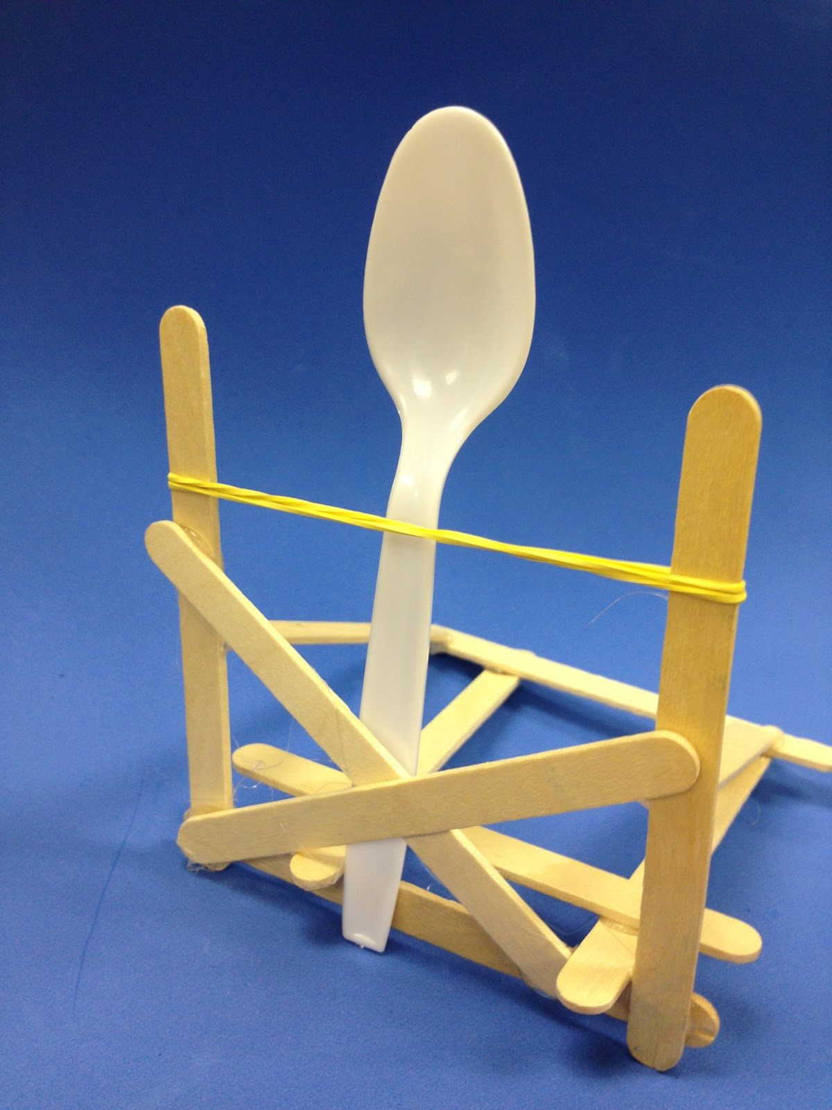 Popsicle Stick Catapult | Teach With Fergy  How To Build A Catapult With Popsicle Sticks