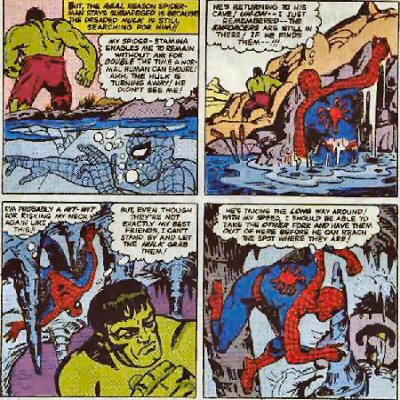 TMe Comic Books  Storyboarding by Terrence Brady - Section I