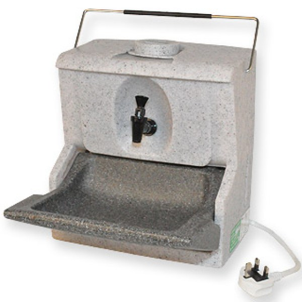 The Handeman® HM230 is a highly portable hot water hand wash unit that can be placed on any flat surface