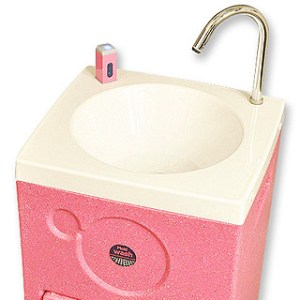 PinkiWash delivers warm water hand washing ideal in schools and nurseries