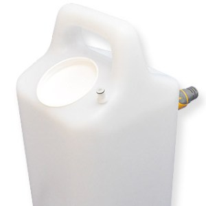 Water container for BigSynk mobile sinks and basins