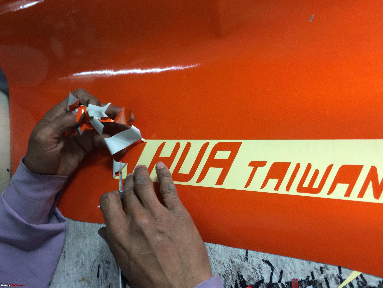 Number plates and stickers tarun cars lajpat nagar delhi photo