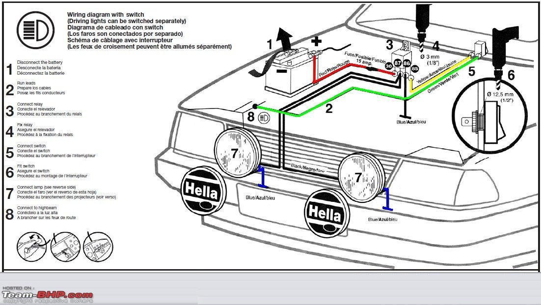 Hella Light Wiring Diagram Relay wiring for hella lights jeep
