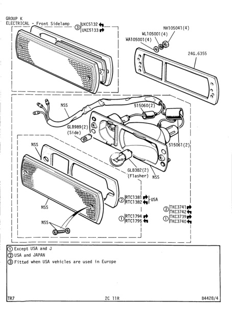 wiring diagram 1973 triumph stag