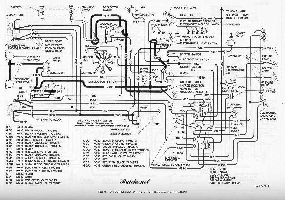 1953 Buick Wiring Diagram circuit diagram template
