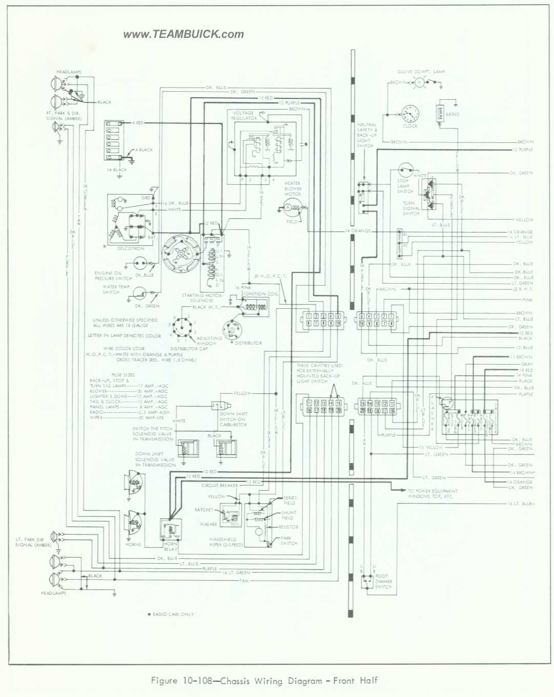 1964 skylark wiring diagram