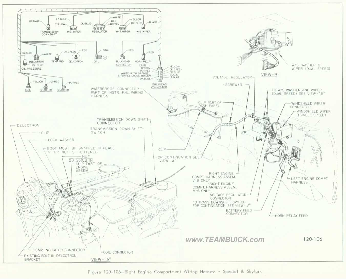 66 gto engine wiring diagram