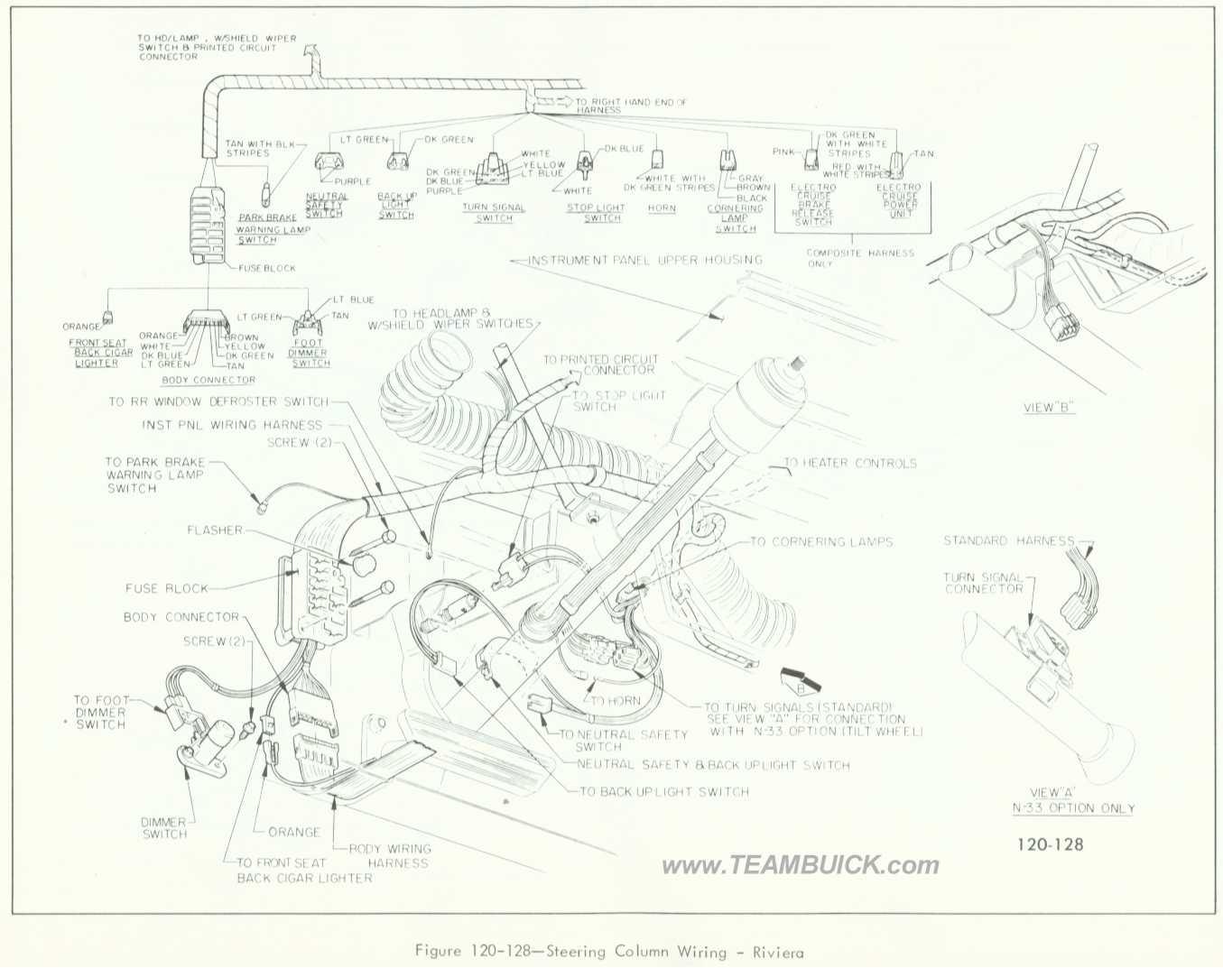 96 buick riviera wiring diagram
