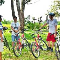 Cycling Bali di Luwus Camp