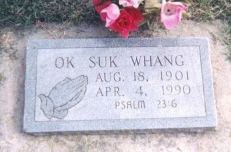 Ok Suk Whang Funny tombstones, funny gravemarkers funny headstones funny names stupid names sexual innuendos bad tattoos worst tattoos funny signs sexual innuendos funny halloween awkward family photos bad family worst family