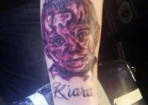another bad tattoo photo from TeamJimmyJoe.com, fail worst ever portrait, awful, ugly