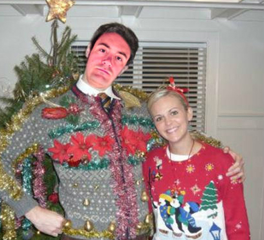 Funny Pictures of Paul Menard Ugly Christmas Sweaters Funny NASCAR Tacky Christmas NASCAR Driver Pictures Photos Pics