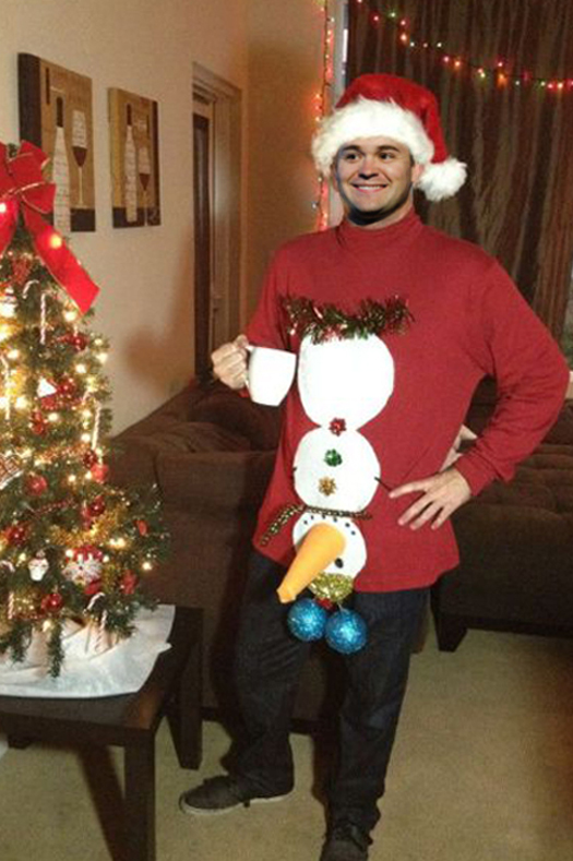 Rickey Stenhouse Jr Christmas Sweater