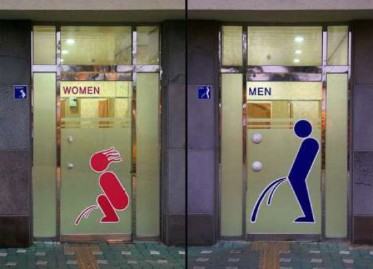 Funny bathroom signs funny store signs, fun advertisements, ads, worst ever, bad, street signs, real estate, misspelled, wrong, fail, stupid, wtf, bad product names, neon signs, funny names, funny people, wrong place wrong time,