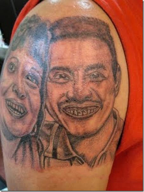 Bad tattoos 15 more of the ugliest worst team jimmy joe for That s my boy tattoo