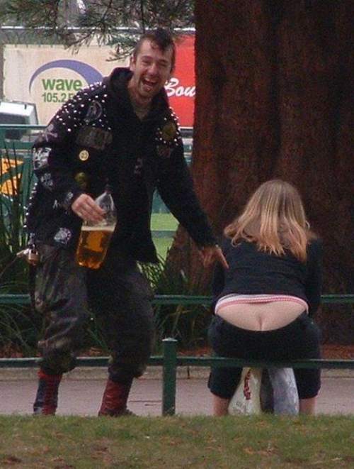 but crack woman thong Balls door knocker funny pictures weird pictures pics awkward family photos bad tattoos worst tattoos stupid people bad family photos funny family pics random strange