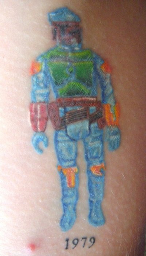Boba Fett Bad Star Wars Tattoos, Worst Star Wars Tattoos, ugliest tattoos, funny tattoos, star wars convention, ugliest tattoos, worst tattoos in america, stupid people, funny pictures, wtf, fail, crazy, horrible, terrible, regrettable, regrets, awful ugly