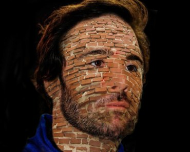 Funny Pictures of Jimmie Johnson Brick Face Crown Royal Presents the Samuel Deeds 400 at the Brickyard Indianapolis Motor Speedway Funny NASCAR Driver Pictures Photos Pics Video Daytona 500 Talladega Sprint Cup