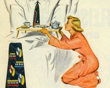 Van Heusen Shirts Show Her It's A Man's World most sexist advertising extremely sexism sexist print ads of the 40s 50s 60s 70s 50s Housewives chauvinism chauvinistic advertisements mad men don worst funny draper
