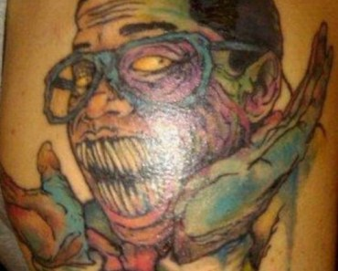Urkel Zombie America's Worst Tattoos Bad Tattoos Ugliest Regrettable Stupid Funny Terrible WTF