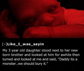 25 of the Creepiest Things Kids Have Told Their Parents