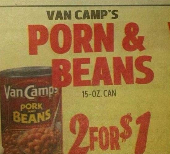Porn & Beans ~~ You Had One Job ~ 31 Epic Fails