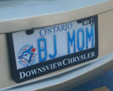 36 Funny Naughty license Plates