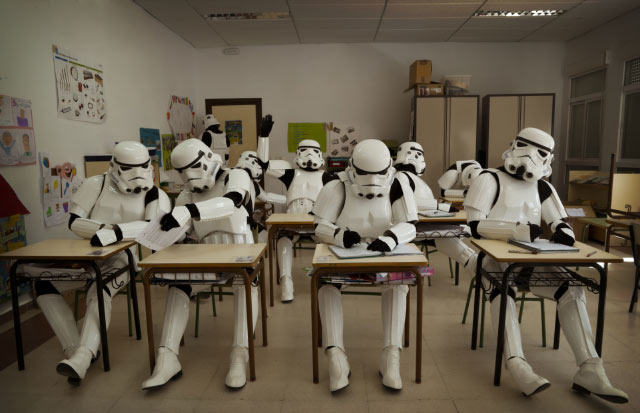 The Boring, Ordinary Lives of Stormtroopers | Team Jimmy Joe