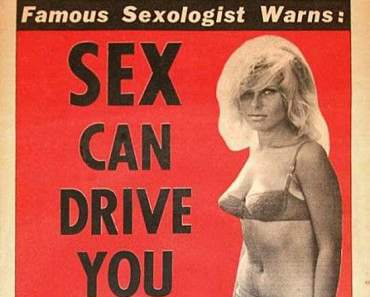 Vintage National Bulletin Magazine ~ Sex can drive you insane