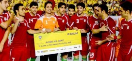 3rd place for Futsal Team Melli in Brazil's Grand Prix 2013