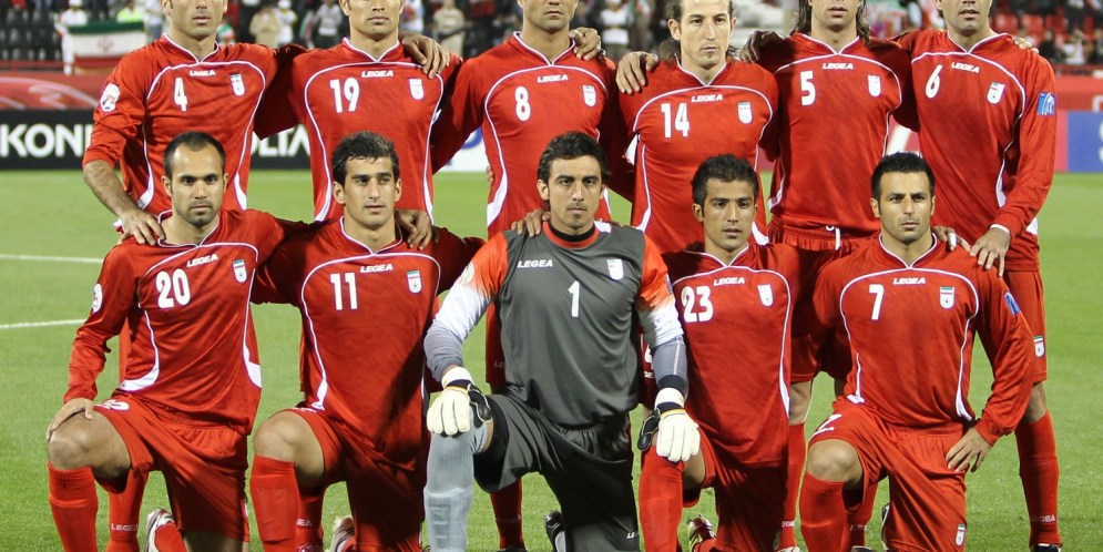 Team Melli vs Iraq AFC 2011