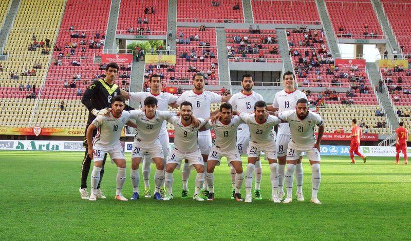 Team Melli vs Macedonia
